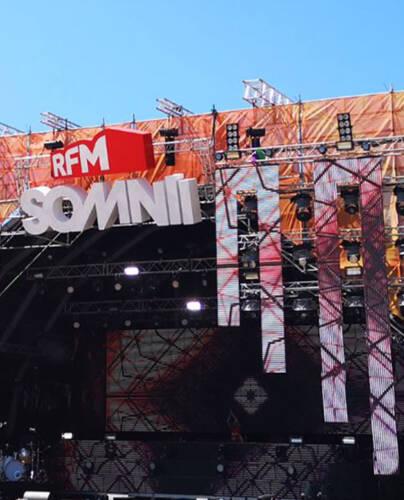 Palco do Festival RFM SOMNII